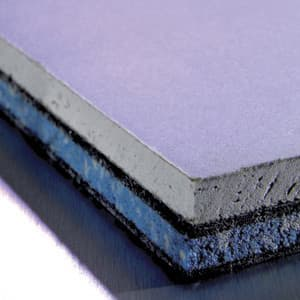 Acoustic plasterboards