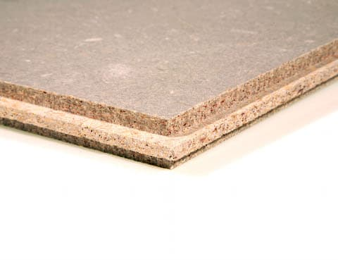 Acoustic Cement Particle Board Soundproof Chipboard