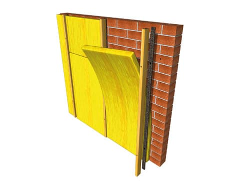Acoustic Mineral Wool Easy Fit Mineral Wool Slab