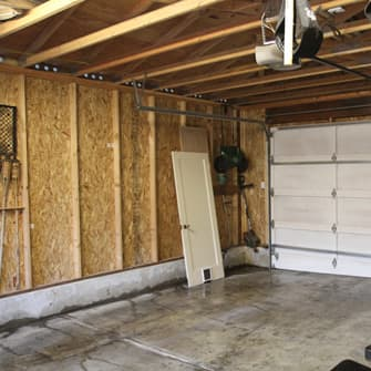 Garage soundproofing.